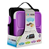 SmartPlanet Ultrathin Lunchbook Meal Kit in Purple