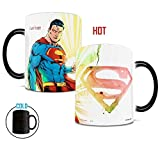 Morphing Mugs DC Comics Justice League (Superman) Ceramic Mug, Black