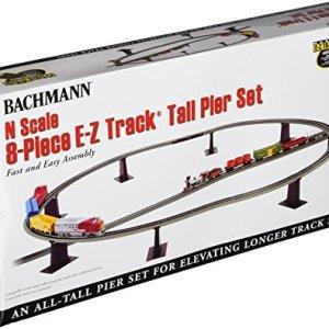 Bachmann 8 Piece E-Z Track Tall Pier Set – N Scale 51PKuEFMRFL