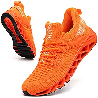 SKDOIUL Men Sport Running Shoes Mesh Breathable Trail Runners Fashion Sneakers Road Running Shoes On Trail