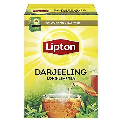 51PMsBXtK L - Lipton Darjeeling Long Leaf Tea, 100 Percent Pure and Authentic Darjeeling Tea, 250 g