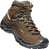 KEEN - Men's Durand II Mid WP, Waterproof Hiking Boots, Cascade Brown/Gargoyle, 9.5 M US