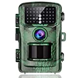 TOGUARD Trail Camera 14MP 1080P Game Hunting Cameras with Night Vision Waterproof 2.4' LCD IR LEDs Night Vision Deer Cam Design for Wildlife Monitoring and Home Security