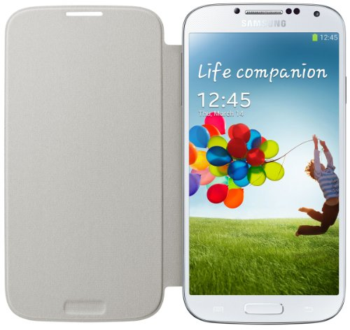 Samsung Flip Cover Galaxy S4 (White) 183