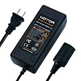 AC to DC Converter, HOTOR 8.5A 100W 110-220V to 12V Car Cigarette Lighter Socket AC DC Power Adapter for Car Vacuum and Other 12V Devices under 100W, but don't use it for Car Refrigerator!