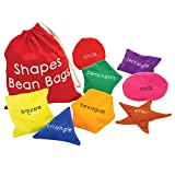 Educational Insights Shapes Beanbags - Educational Toy for Toddlers, Sensory Toy for Preschoolers