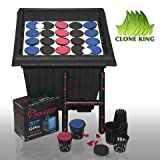 Clone King 25 Site Aeroponic Cloning Machine Expect 100% Success Rates