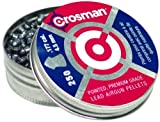 Crosman .177 Cal, 7.4 Grains, Pointed, 250ct