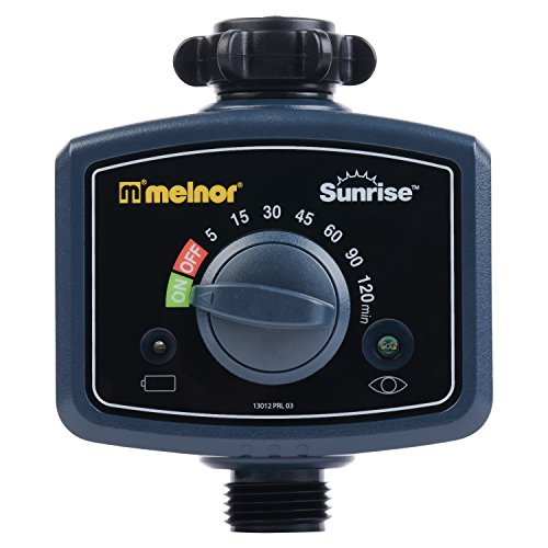 Melnor Sunrise Morning Water Timer - Automatically Water Your Lawn and Garden When Sun Rises
