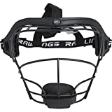 Rawlings Sporting Goods RSBFM-B Fielders Face Mask, Black, Age 12 & Up