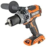 Ridgid R86116 18V Lithium Ion Cordless Brushless Compact Hammer Drill w/ 100-Setting Micro Clutch and LED Lighting (Battery Not Included / Power Tool Only)