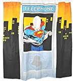 Superman Telephone Booth Shower Curtain