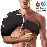 NatraCure Hot/Cold & Compression Shoulder Support 6032 - (Left/Right Shoulder Brace)