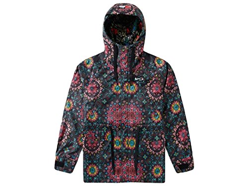 71Vkddu7OGL Style Number: 827069-010 100% Polyester Mesh Lining To Hood Drawstring Hood Printed Branding 4 Front Pockets 2 Way Zip Closure