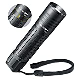 Flashlight,NICRON N81 Tactical EDC Flashlight 700 Lumens,Zoomable,18650/AA battery IPX4 Waterproof Led Flashlight 5 Modes- Best High Lumens are for,Camping,Outdoor,Hiking (Not Including Batteries)