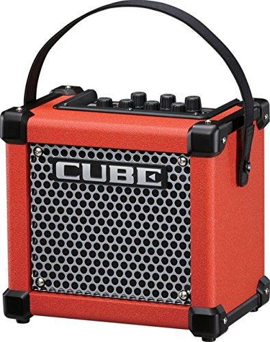 Roland Micro Cube GX 3W 1x5 Battery Powered Guitar Combo Amp Red