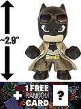 "Knightmare Batman: ~2.9"" Batman v Superman 'Dawn of Justice' x Funko Mystery Minis Vinyl Figure Series + 1 FREE Official DC Trading Card Bundle [87388]"