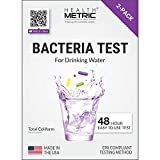 Coliform Bacteria Test Kit for Drinking Water - Easy to Use 48-Hour Water Quality Testing Kit for Home Tap & Well Water | EPA Approved Testing Method | Made in The USA | Incl. E Coli | 1-Pack