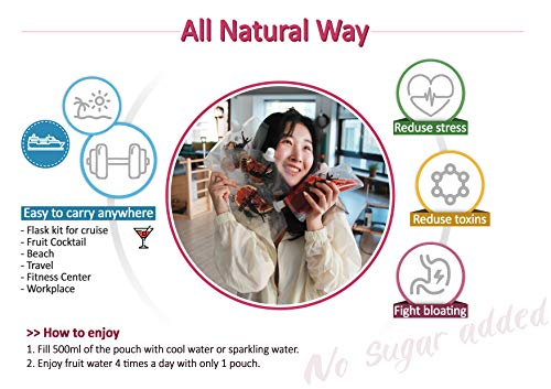 Detox Tea, Vegan Juice, Cleanse, 4days Water - 100% Natural, No Sugar Added, Weight Loss, BPA Free | Haru Cha (Orange/Beet) 7