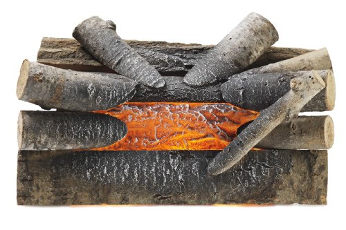 Pleasant Hearth 20' Electric Crackling Natural Wood Log