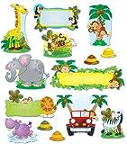 Carson Dellosa Jungle Safari Bulletin Board Set (110152)