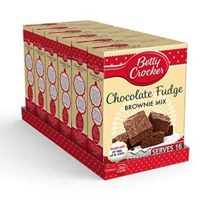 Betty Crocker Chocolate Fudge Brownie Cake Mix 415g (Pack of 6) 51PrVuJ BxL