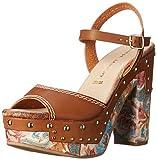Chinese Laundry Women's Callista Platform Sandal, Rich Brown,  7 M US