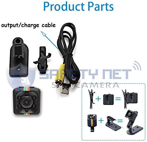 51Q zovaBaL Safety Net SQ11 1080P Full HD Hidden Smallest Mini Spy Camera | Night Vision Hidden Cam | 1920 x 1080p | Full HD Audio and Video Recording