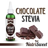NatriSweet Chocolate Stevia Liquid Drops (2 fl oz / 60 Milliliter) | Zero-Calorie Natural Sugar Substitute | Highly Concentrated Stevia Extract | Naturally Flavored