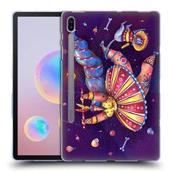 51Q3rpTrjZL - Official Oilikki Circus Assorted Designs Soft Gel Case Compatible for Samsung Galaxy Tab S6 (2019)