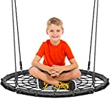 KHOMO GEAR - Extra Large 40 Inches Diameter Swing & Spin Set - Complete Set - Includes Tree Swing Hanging Kit