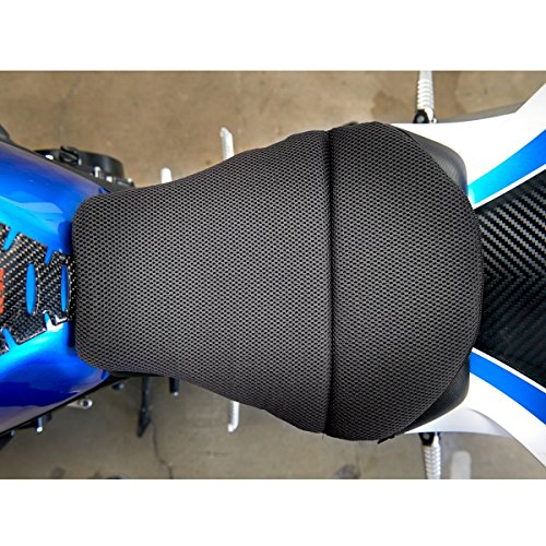 CONFORMAX 'TOPPER EXCEL' ULTRA-FLEX Motorcycle Gel Seat Cushion- AIRMAX Small (15x12x6)