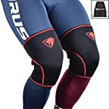 7mm Knee Sleeves: Knee Compression Sleeves for Powerlifting, Squats, Bodybuilding, Weightlifting - Superior Support and Range of Motion - Knee Sleeves for Men and Women - by Impulse Sportz