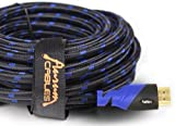 Aurum Ultra Series - High Speed HDMI Cable with Ethernet (40 FT) - CL2 Certified - Supports 3D & Audio Return Channel - Full HD [Latest Version] - 40 Feet