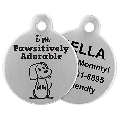 If It Barks Engraved Pet Id Tags For Dogs Personalized Pet Id Name Tag Attachment Made In Usa Stainless Steel Dog Tags Martaffairsbay