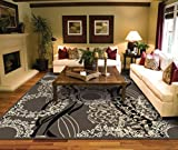AS Quality Rugs Large Living Room 8x10 Contemporary Light Brown Area 100 Prime Rug
