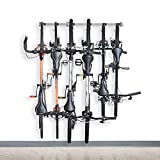 Monkey Bars Bike Storage Rack 2.0 - Store Up To 6 Bikes - 300lb Weight Capacity Garage Bike Rack