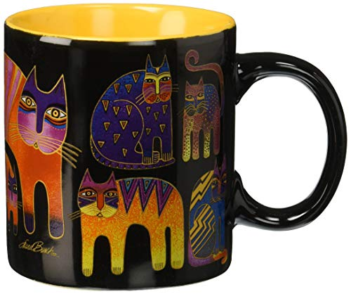 Laurel Burch Artistic Mug Collection, Fantastic Feline Totem