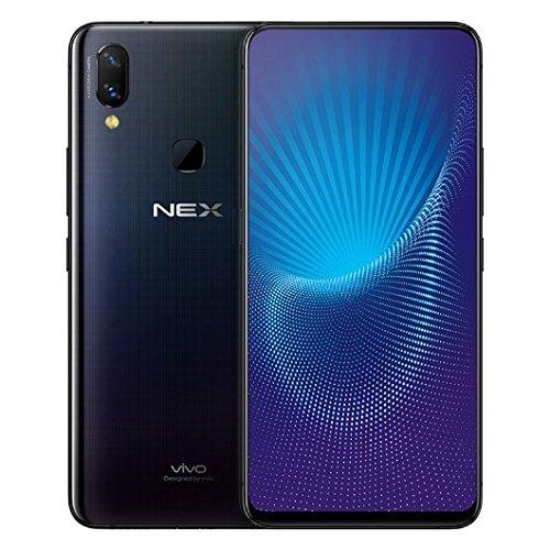 "Vivo Nex Mobile Phone Snapdragon 710/845 Octa Core 6.59"" OLED Full Screen Auto-elevated Camera 4000mAh Type-C AI HiFi (6G 128GB Black)"