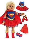 American Fashion World Super Girl Costume - 18 Inch Doll Clothes