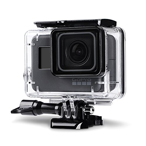 Trehapuva Underwater Housing Case for GoPro Hero (2018) / GoPro Hero 6 / 5 Black Waterproof Case Diving Protective Housing Shell Replacement Cover with Bracket for Go Pro Camera Accessories