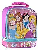 Disney Princess Dual Dome Lunchbag (Princess Pink)