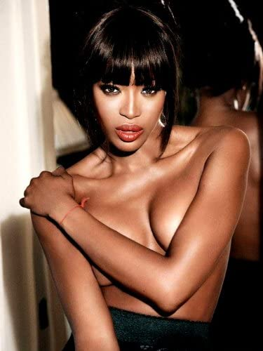 D7874 Naomi Campbell Hot Topless Sexy Model 32x24 Print Poster: Amazon.ca:  Home & Kitchen