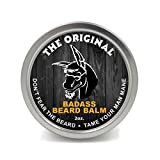 Badass Beard Care Beard Balm For Men - The Original Scent, 2 Ounce - All Natural Ingredients, Soften Hair, Hydrate Skin to Get Rid of Itch and Dandruff, Promote Healthy Growth