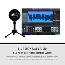 Blue-Snowball-Studio-USB-All-In-One-Vocal-Recording-System-with-Samson-Dynamic-Headphones-Mic-Pop-Filter-and-Fibertique-Cloth