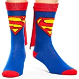 DC Comics Cape Crew Socks (Superman)