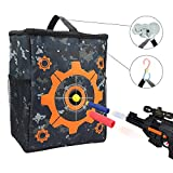 UWANTME Target Pouch Storage Carry Equipment Bag with 2PCS Hooks for Nerf N-Strike Elite / Mega / Rival Series