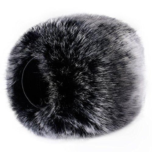Neewer-Outdoor-Microphone-Furry-Windscreen-Muff-for-Zoom-H4n-H5-H6-Sony-PCM-D50-Tascam-DR-100-MKII-and-Similar-Portable-Digital-Recorders