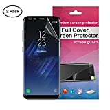JASPER [2 PACK] NEW NANOEDGE Technology TPU Screen Protector for Samsung Galaxy 9/9 Plus 3D Screen Protector Nanoedge Film | Stronger and lighter than Tempered Glass| (S9 Plus)