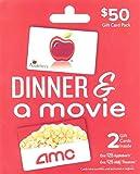 Applebee's - AMC Dinner & A Movie, Multipack of 2 - $25